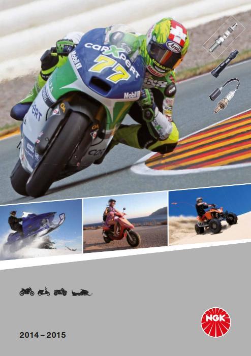 Catalog bujii NGK pentru motociclete scutere ATV/Quad