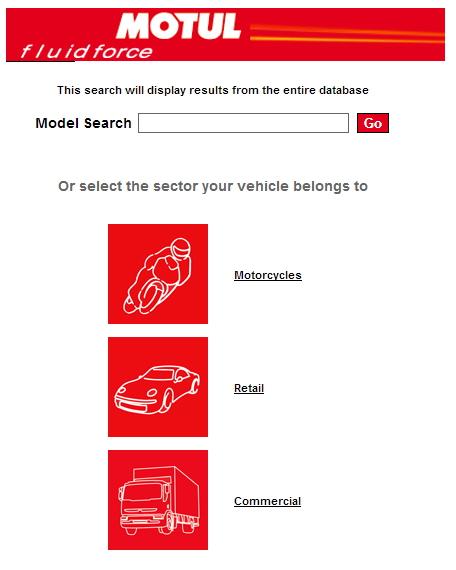Catalog recomandari uleiuri Motul moto auto